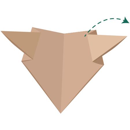 kideaz origami ours etape 5 bis