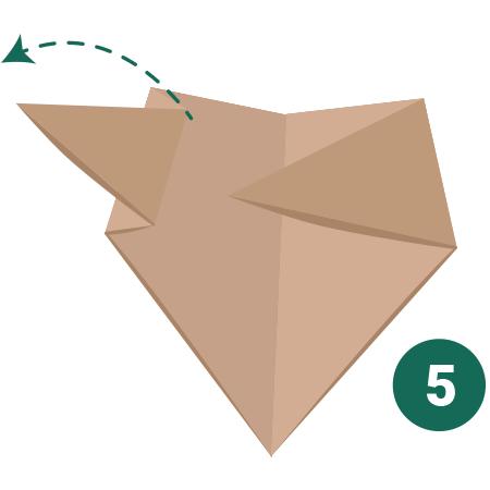 kideaz origami ours etape 5