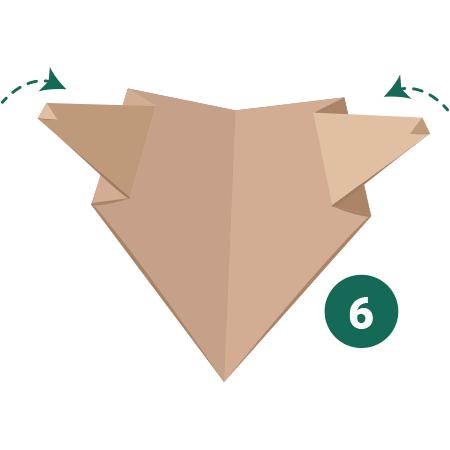 kideaz origami ours etape 6