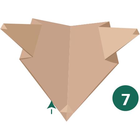 kideaz origami ours etape 7