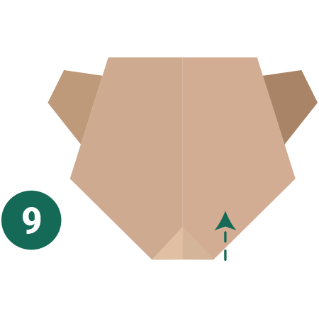 kideaz origami ours etape 9