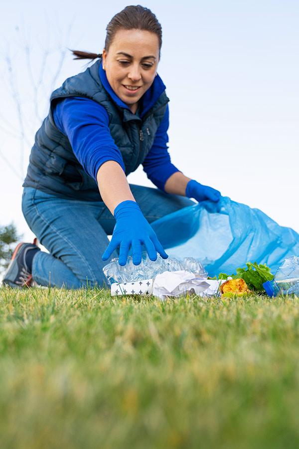 kideaz ramassage dechets nature adultes plastique