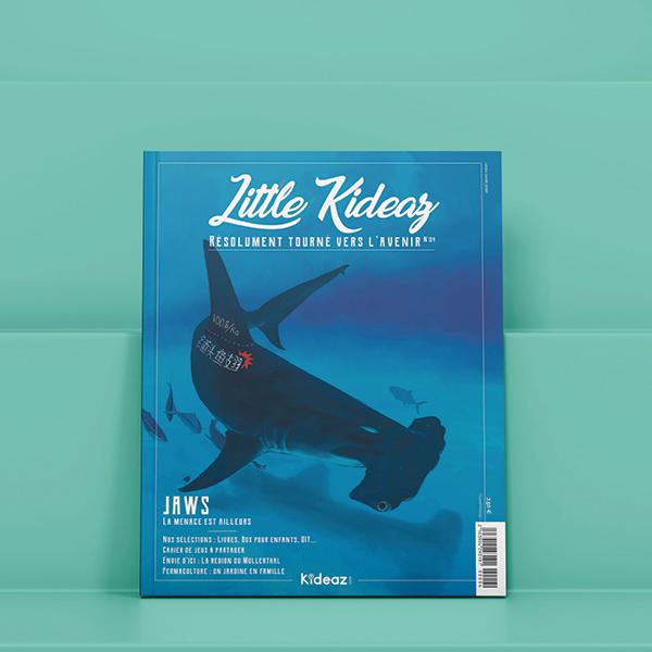 little kideaz 4 couverture magazine ludo educatif famille enfants