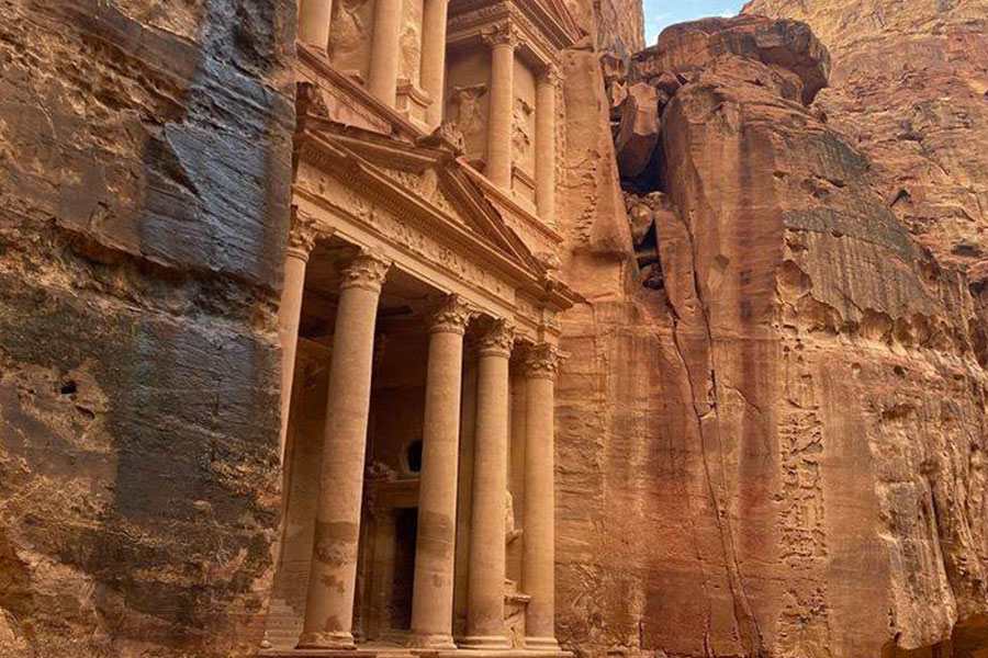 kideaz copyright Global Planet Earth guided virtual tour petra