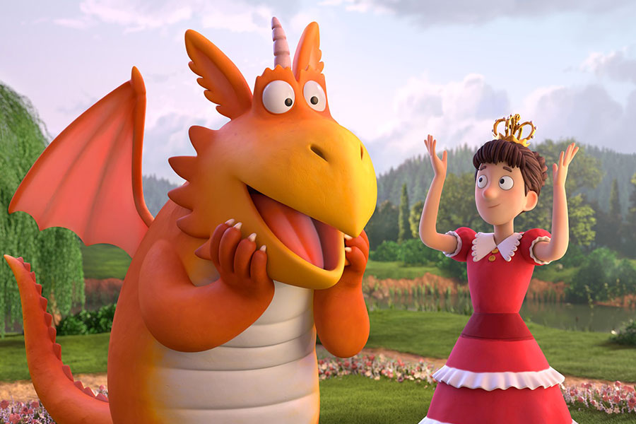 kideaz copyright cinema paradiso Zébulon le dragon