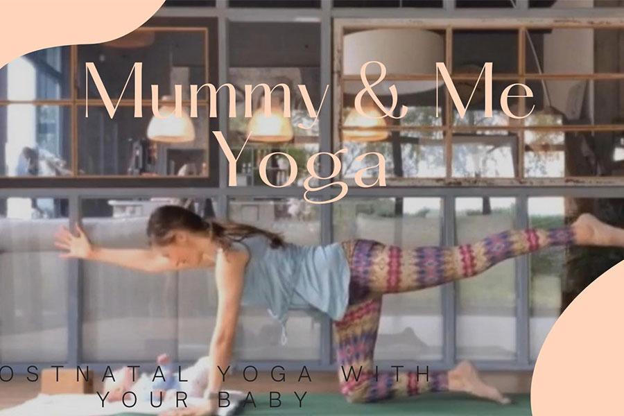 kideaz copyright my happy place Mummy & Me Yoga