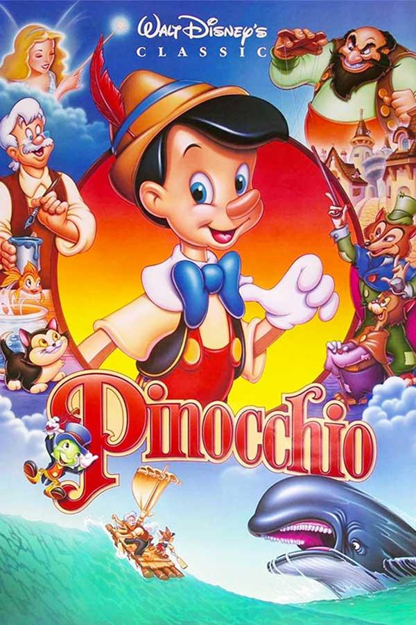 kideaz copyright film pour enfants Pinocchio