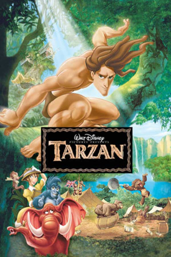 kideaz copyright film pour les enfants tarzan
