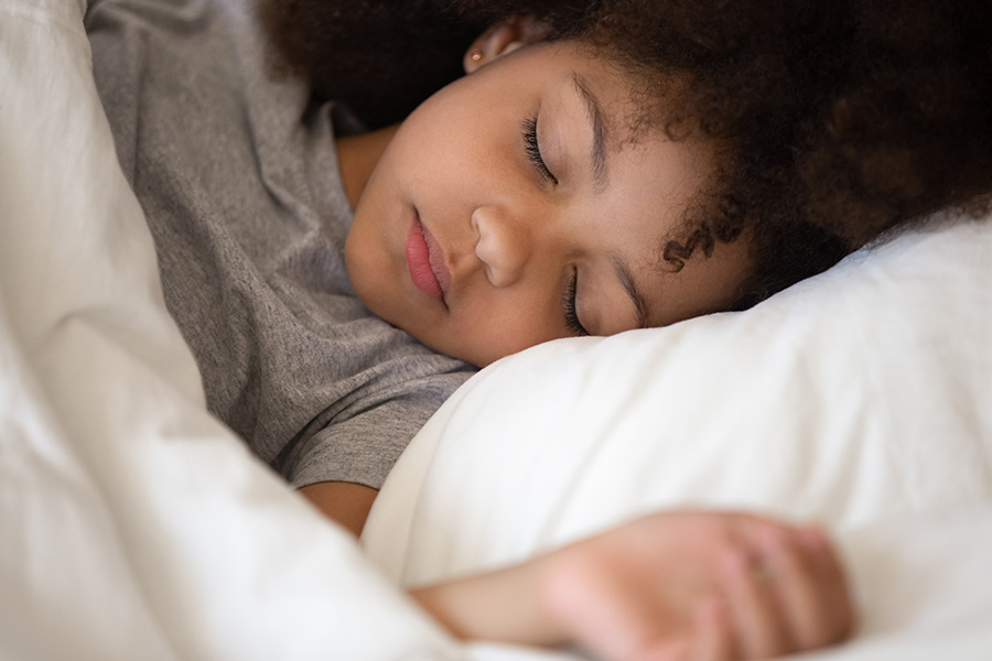 kideaz enfant dormir sommeil lit