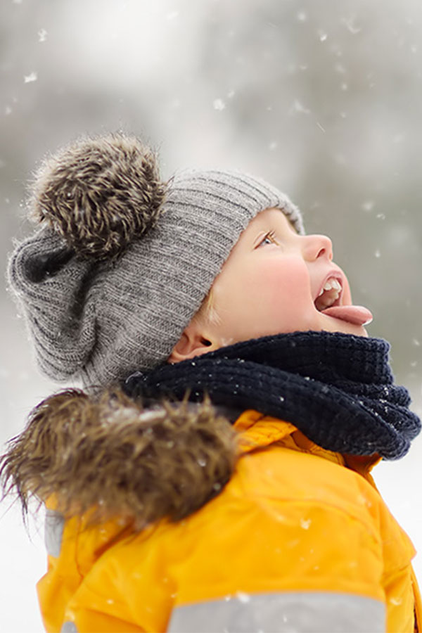 kideaz   enfant   neige