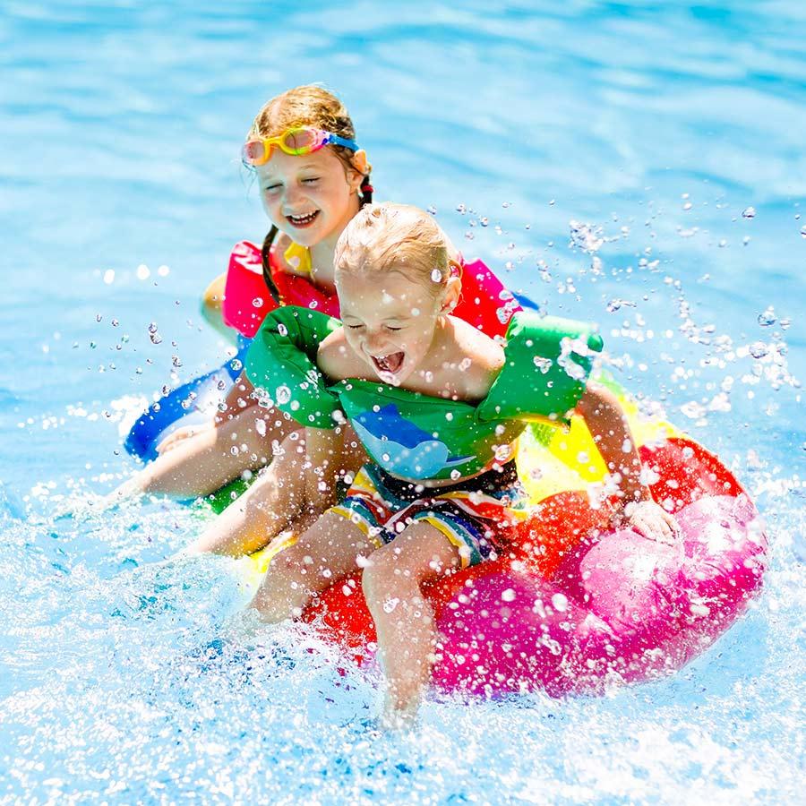 kideaz enfants baignade piscine securite bouee