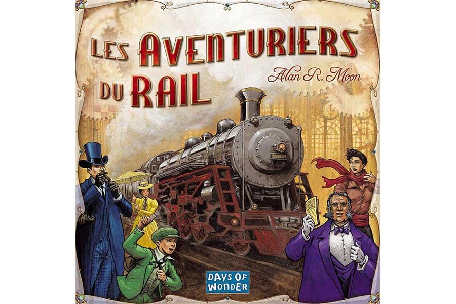 KIDEAZ   COPYRIGHT   jeu de societe   les aventuriers du rail