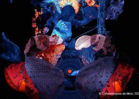 kideaz copyright constellations de metz mapping video morphosis