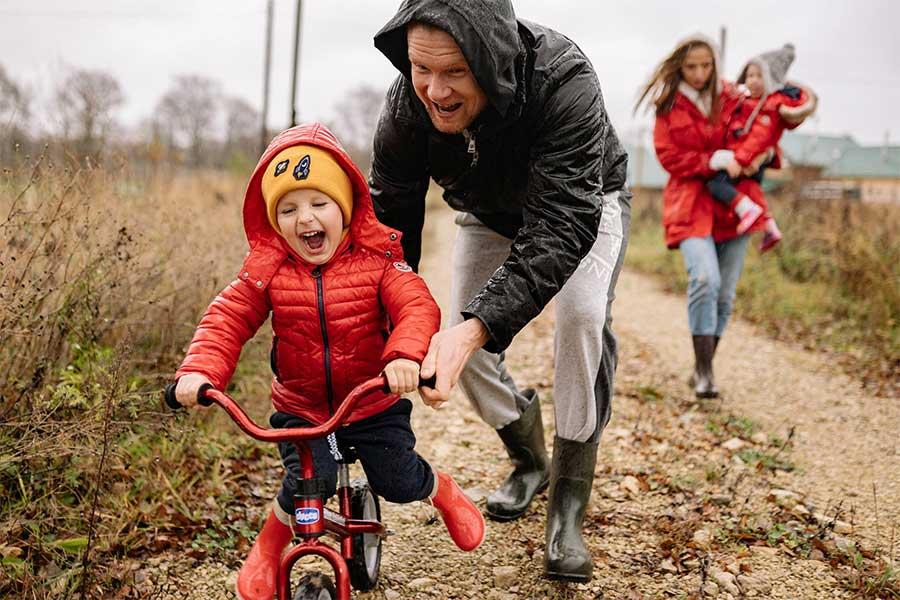 kideaz   vélo   enfant   parent