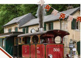 kideaz copyright minett park Journée portes ouvertes Centenaire de la locomotive Cockerill 503