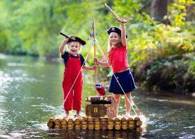kideaz enfants chasse tresor pirates deguisement