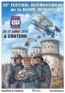 AFFICHE BD Contern 2019