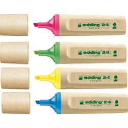 Kideaz Matériels scolaires durables ecologiques edding surligneurs