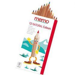 Kideaz Matériels scolaires durables ecologiques memo natural colours crayon