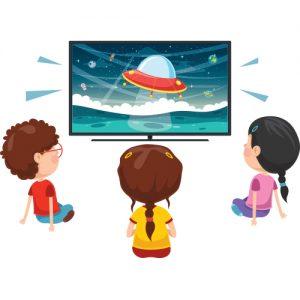 kideae enfants ecrans télé