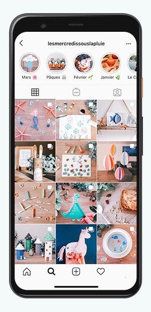 kideaz comptes instagram parents mercredis sous la pluie
