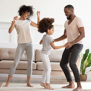 kideaz danse famille salon enfants