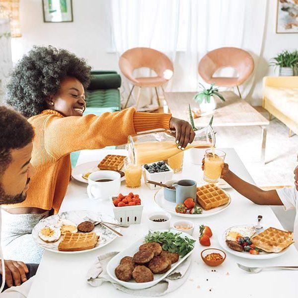 kideaz deujeuner famille