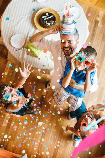 kideaz fete anniversaire parent enfant maison