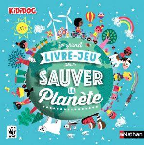 kideaz grand livre sauver la planete