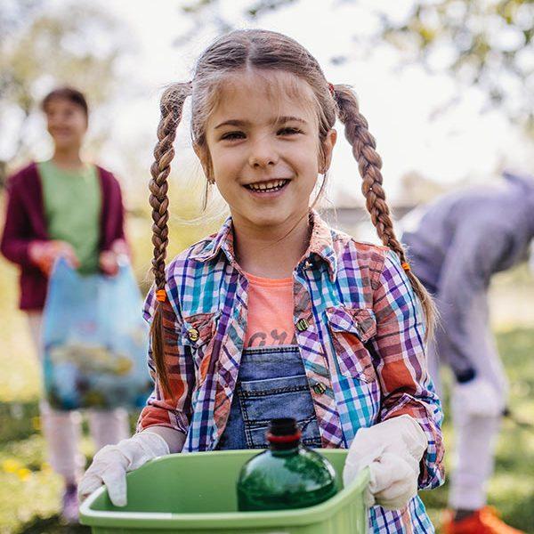 kideaz ramassage dechets recyclage enfant famille