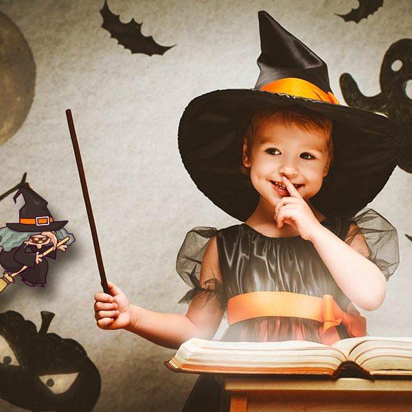 kideaz sorciere halloween